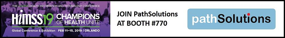 HIMSS19 PathSolutions to exhibit 770