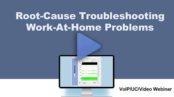Root-Cause Troubleshooting Work-at-Home-Problems